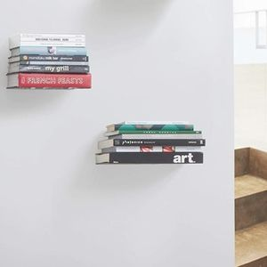 Invisible Book Shelves (Set of 2)